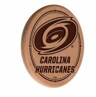 Carolina Hurricanes Laser Engraved Wood Sign
