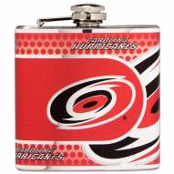 Carolina Hurricanes Hi-Def Stainless Steel Flask