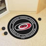 Carolina Hurricanes Hockey Puck Mat