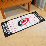 Carolina Hurricanes Hockey Rink Runner Mat