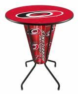 Carolina Hurricanes Indoor Lighted Pub Table