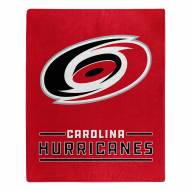Carolina Hurricanes Interference Raschel Blanket