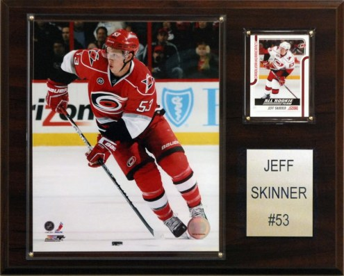 "Carolina Hurricanes Jeff Skinner 12"" x 15"" Player Plaque"