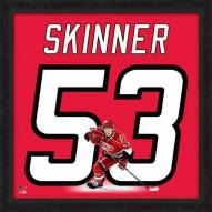 Carolina Hurricanes Jeff Skinner Uniframe Framed Jersey Photo