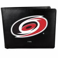 Carolina Hurricanes Large Logo Bi-fold Wallet