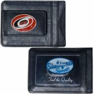 Carolina Hurricanes Leather Cash & Cardholder