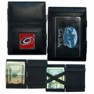 Carolina Hurricanes Leather Jacob's Ladder Wallet