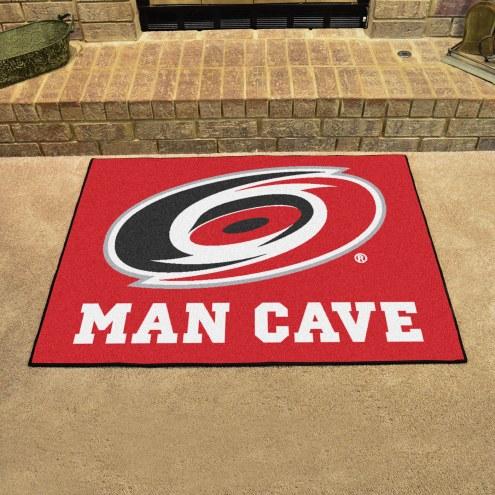 Carolina Hurricanes Man Cave All-Star Rug