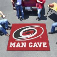 Carolina Hurricanes Man Cave Tailgate Mat