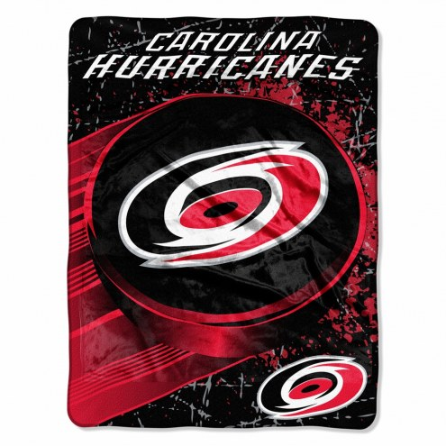 Carolina Hurricanes Micro Ice Dash Blanket
