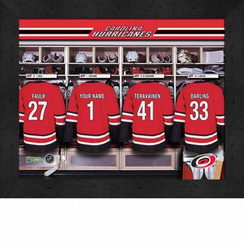Carolina Hurricanes Personalized 11 x 14 Framed Photograph