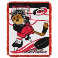 Carolina Hurricanes Score Baby Blanket