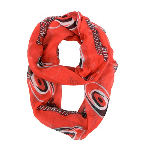 Carolina Hurricanes Sheer Infinity Scarf