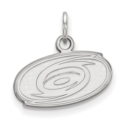 Carolina Hurricanes Sterling Silver Extra Small Pendant