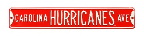 Carolina Hurricanes Street Sign