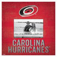 "Carolina Hurricanes Team Name 10"" x 10"" Picture Frame"