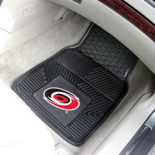 Carolina Hurricanes Vinyl 2-Piece Car Floor Mats