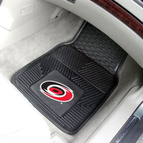Carolina Hurricanes Vinyl 2-Piece Car Floor Mats