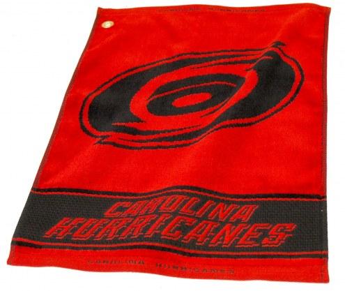 Carolina Hurricanes Woven Golf Towel