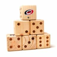 Carolina Hurricanes Yard Dice