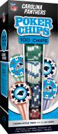 Carolina Panthers 100 Poker Chips