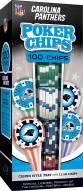 Carolina Panthers 100 Poker Chips