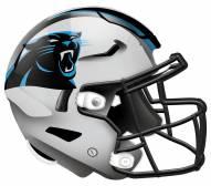 """Carolina Panthers 12"""" Helmet Sign"""