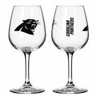 Carolina Panthers 12 oz. Gameday Stemmed Wine Glass