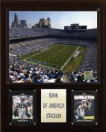 "Carolina Panthers 12"" x 15"" Stadium Plaque"