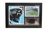 "Carolina Panthers 12"" x 18"" Photo Stat Frame"