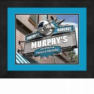 Carolina Panthers 13 x 16 Personalized Framed Sports Pub Print