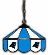 """Carolina Panthers 14"""" Glass Pub Lamp"""