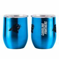 Carolina Panthers 16 oz. Gameday Stainless Curved Beverage Tumbler