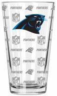 Carolina Panthers 16 oz. Sandblasted Pint Glass