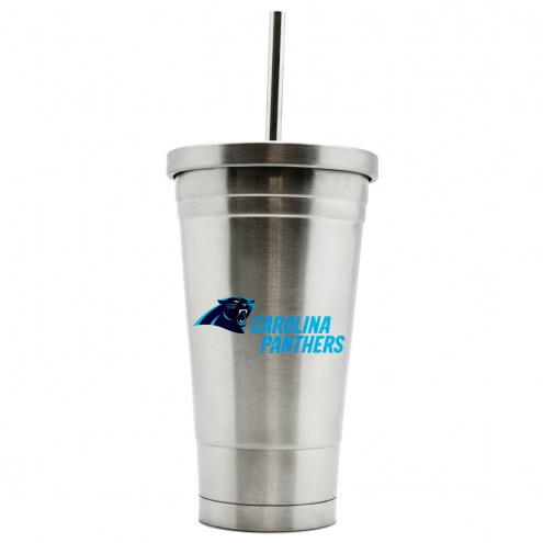 Carolina Panthers 17 oz. Stainless Steel Thermo Tumbler
