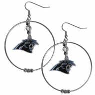 """Carolina Panthers 2"""" Hoop Earrings"""