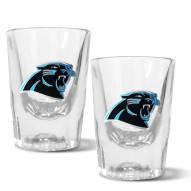 Carolina Panthers 2 oz. Prism Shot Glass Set
