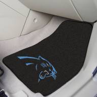 Carolina Panthers 2-Piece Carpet Car Mats
