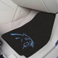 Carolina Panthers 2-Piece Carpet Car Mats