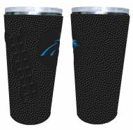 Carolina Panthers 20 oz. Stainless Steel Tumbler with Silicone Wrap