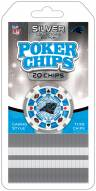 Carolina Panthers 20 Piece Poker Chips Set
