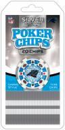 Carolina Panthers 20 Piece Poker Chips Set