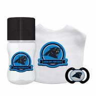 Carolina Panthers 3-Piece Baby Gift Set