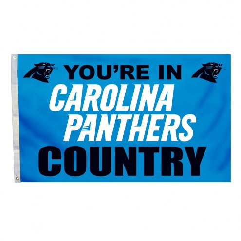 Carolina Panthers 3' x 5' Country Flag