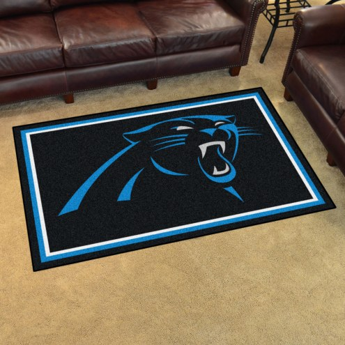 Carolina Panthers 4' x 6' Area Rug