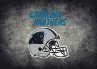 Carolina Panthers 4' x 6' NFL Distressed Area Rug
