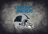 Carolina Panthers 4' x 6' NFL Distressed Area Rug