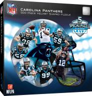 Carolina Panthers 500 Piece Helmet Shaped Puzzle