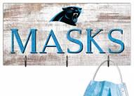 "Carolina Panthers 6"" x 12"" Mask Holder"