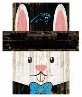 """Carolina Panthers 6"""" x 5"""" Easter Bunny Head"""